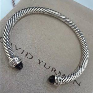 David Yurman Princess Onyx Diamond Bracelet
